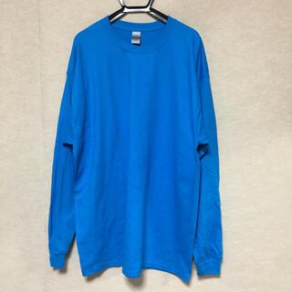 ギルタン(GILDAN)の新品 GILDAN ギルダン 長袖ロンT サファイアブルー XL(Tシャツ/カットソー(七分/長袖))