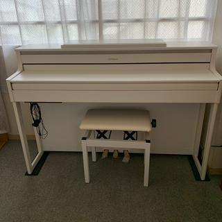 ローランド(Roland)のたけぴょん様専用美品 ローランド 電子ピアノ ホワイト HP704-WHS (電子ピアノ)