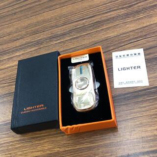 電子ライター ハンドスピナーライター ライト付き 光る usb充電 新品(タバコグッズ)