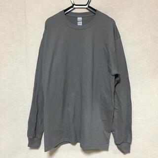 ギルタン(GILDAN)の新品 GILDAN ギルダン 長袖ロンT チャコールグレー L(Tシャツ/カットソー(七分/長袖))