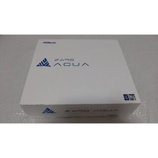 美品 ASRock Z490 AQUA 最新BIOS更新 本格水冷 マザーボード(PCパーツ)