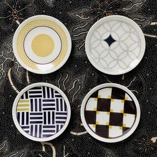 サッポロ(サッポロ)のヱビスビール景品 小皿4枚セット (未使用)(食器)