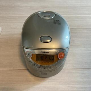 トウシバ(東芝)のTOSHIBA RC-6XD(S) 炊飯器 3.5合(炊飯器)