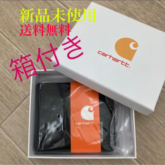 carhartt(カーハート)の折財布 【ブラック】ラスト1 メンズのファッション小物(折り財布)の商品写真
