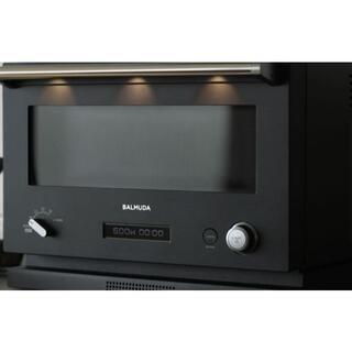 バルミューダ(BALMUDA)の新品 未使用 未開封 バルミューダ オーブンレンジ K04A-BK 黒(電子レンジ)