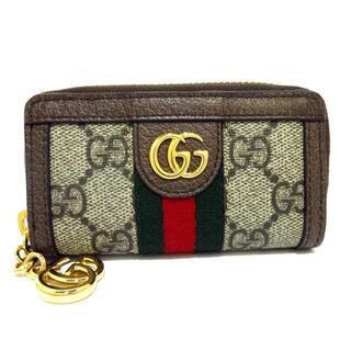 グッチ(Gucci)のグッチ キーケース美品  GG柄,オフィディア(キーケース)