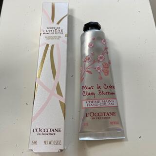 L'OCCITANE - ロクシタン ジェル状香水.ハンドクリーム