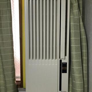 ハイアール(Haier)の窓用エアコン(使用中/配送着払条件) 最短6/26以降発送可能(エアコン)