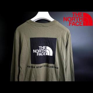 ザノースフェイス(THE NORTH FACE)の新品 THE NORTH FACE ノースフェイス【L】日本未発売  ロンT(Tシャツ/カットソー(七分/長袖))