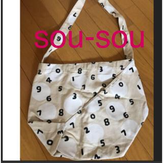 ソウソウ(SOU・SOU)の☆ SOU SOUxすいぎよく柄のバッグ☆(ハンドバッグ)