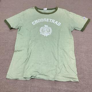 ジェイプレス(J.PRESS)のジェイプレス チャンピオン オンワード樫山 tシャツ L 緑 夏 jpress(Tシャツ/カットソー(半袖/袖なし))