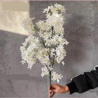 造花 フラワー お花 花 装飾 インテリア 自然 ナチュラル ホワイトカラー(ドライフラワー)