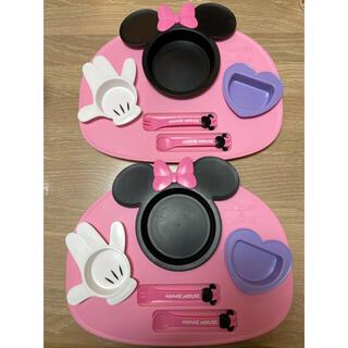 ディズニー(Disney)の子供用食器セット(離乳食器セット)