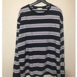 アンユーズド(UNUSED)のunused ボーダーT(Tシャツ/カットソー(七分/長袖))