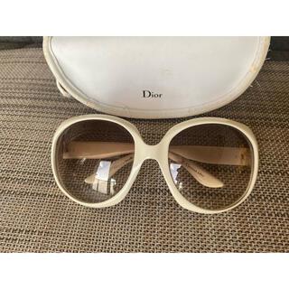 Dior - Dior グロッシー サングラス ホワイト