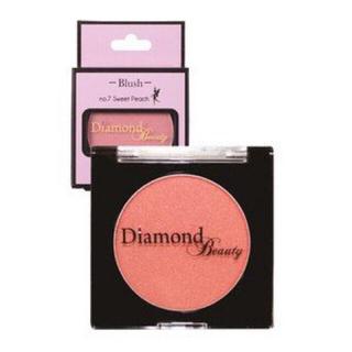 ダイヤモンドビューティー(Diamond Beauty)のダイヤモンドビューティー ブラッシュ 07 スウィートピーチ(チーク)