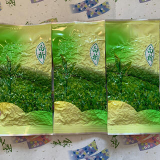 【新茶 長崎県産そのぎ茶】白折80g×3袋 緑茶 日本茶(茶)