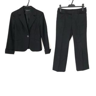 インディヴィ(INDIVI)のインディビ レディースパンツスーツ 黒(スーツ)