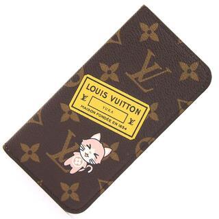 ルイヴィトン(LOUIS VUITTON)の ルイヴィトン スマホカバー モノグラム マイLV 7 &(手帳)