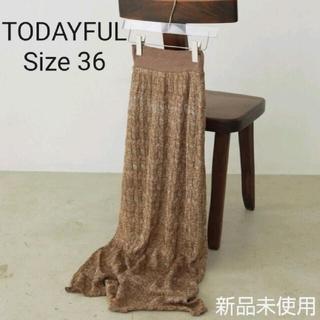 トゥデイフル(TODAYFUL)の【TODAYFUL】Lace Pencil Skirt 36(ロングスカート)