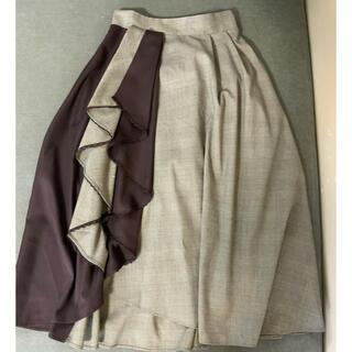 axes femme - アクシーズファム ひざ丈スカート サイズM