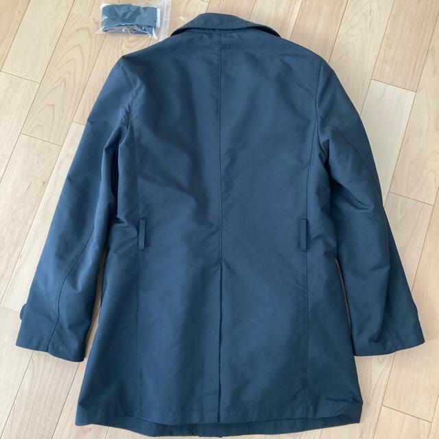 ARMANI COLLEZIONI(アルマーニ コレツィオーニ)のアルマーニ サイズ46  ネイビー ウォーターリファレント  コート   メンズのジャケット/アウター(トレンチコート)の商品写真