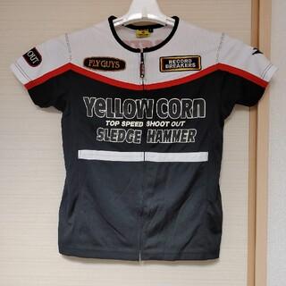 イエローコーン(YeLLOW CORN)のYELLOW CORN ファスナーTシャツ(ライダースジャケット)