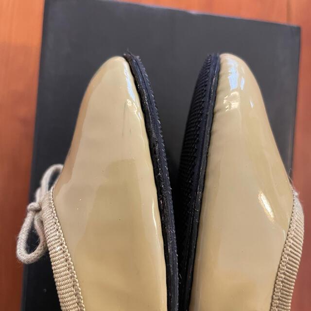 repetto(レペット)の試着のみ レペット サンドリオン バレエシューズ 37 レディースの靴/シューズ(バレエシューズ)の商品写真