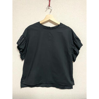 バンヤードストーム(BARNYARDSTORM)のバンヤードストーム 黒トップス(シャツ/ブラウス(半袖/袖なし))