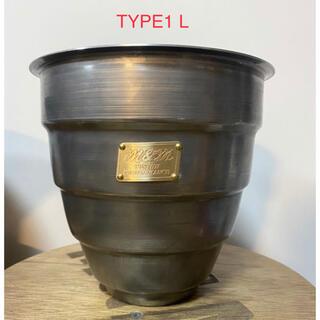 エムアンドエム(M&M)のMASSES M&M TYPE1 L、M.S セット即発送 (プランター)