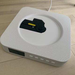 ムジルシリョウヒン(MUJI (無印良品))のCDプレイヤー Bluetooth機能付(スピーカー)