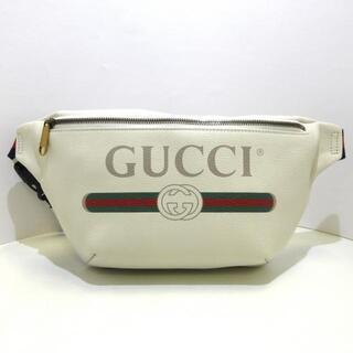 グッチ(Gucci)のグッチ ウエストポーチ美品  530412 レザー(ボディバッグ/ウエストポーチ)