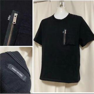 クリスチャンダダ(CHRISTIAN DADA)の定価15400円 CHRISTIAN DADA 19SS Tシャツ 46 M 黒(Tシャツ/カットソー(半袖/袖なし))