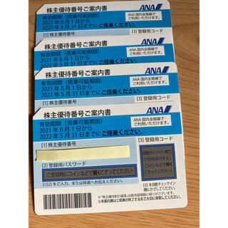ANA 株主優待券(その他)