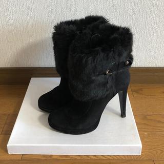 ダイアナ(DIANA)のDIANAファーショートブーツ(ブーツ)