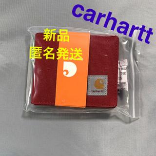 カーハート(carhartt)の折財布 レッド 箱付き(折り財布)