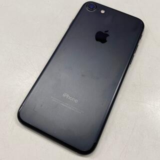 エーユー(au)の中古訳あり☆au iPhone7 32GB ブラック(スマートフォン本体)