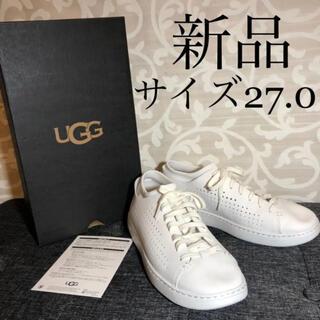 アグ(UGG)の新品 未使用 UGG メンズ スニーカー ホワイト(スニーカー)
