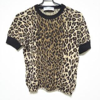 ドルチェアンドガッバーナ(DOLCE&GABBANA)のドルチェアンドガッバーナ 半袖セーター 40(ニット/セーター)