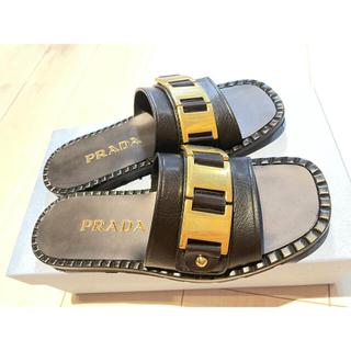 PRADA - PRADA サンダル  1XX559 B4L F0002
