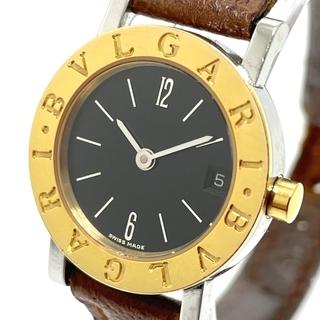 ブルガリ(BVLGARI)のブルガリ BB23SGLD デイト ブルガリブルガリ レディース腕時計 シルバー(腕時計)