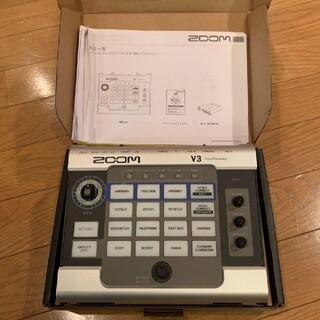 ズーム(Zoom)のZOOM Vocal Processor V3(エフェクター)