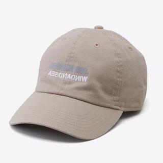 ネイバーフッド(NEIGHBORHOOD)の【ベージュ】WIND AND SEA × NEIGHBORHOOD CAP(キャップ)
