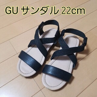 ジーユー(GU)のGU 女の子サンダル 22cm(サンダル)