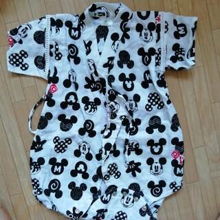ディズニー(Disney)のミッキー ロンパース甚平90(甚平/浴衣)