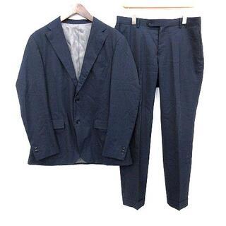 エディフィス(EDIFICE)のエディフィス スーツ セットアップ  テーラードジャケット 50 L ネイビー(スーツジャケット)