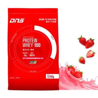 ディーエヌエス プロテイン ホエイ100 いちごミルク風味 3150g 90食入