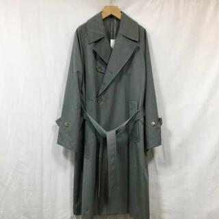 """コモリ(COMOLI)のULTERIOR""""PURE COVERT CLOTH OVER COAT""""(トレンチコート)"""