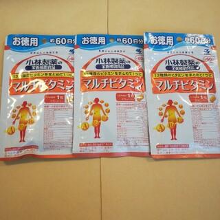 コバヤシセイヤク(小林製薬)の小林製薬 マルチビタミン60日分×3袋(ビタミン)