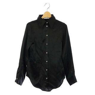 マディソンブルー(MADISONBLUE)のマディソンブルー MADISONBLUE とろみブラウス 長袖 00 黒(シャツ/ブラウス(長袖/七分))
